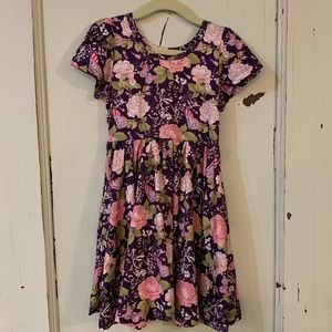 NWT Size 3/4 Charlie's Project Purple Butterfly